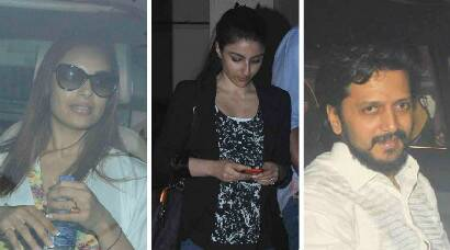 Soha, husband Kunal, mom Sharmila dine out with brother Saif and sister-in-law Kareena