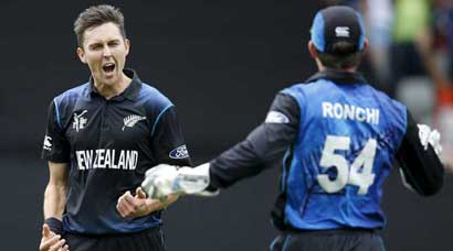 New Zealand's road to final
