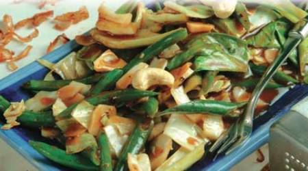 Express Recipes: How to make Stir Fried Greens in Black Bean Sauce