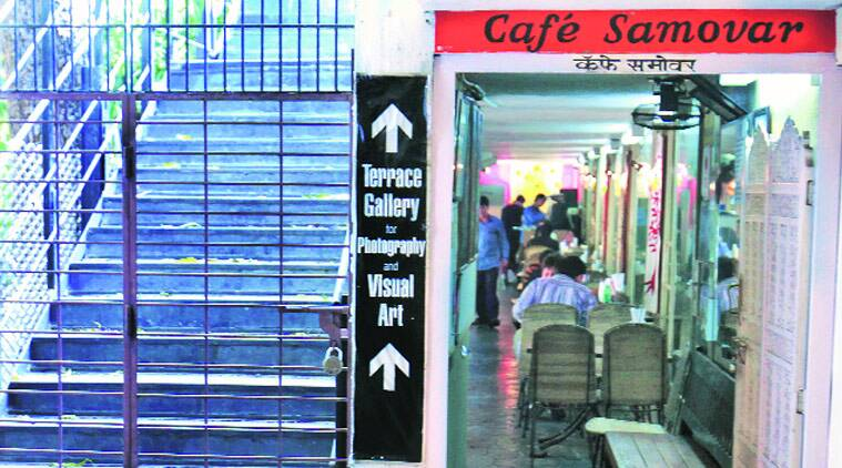 For over three decades, the cafe was fighting a legal battle with the founding trustees of the art gallery. (Source: Express photo by Vasant Prabhu)