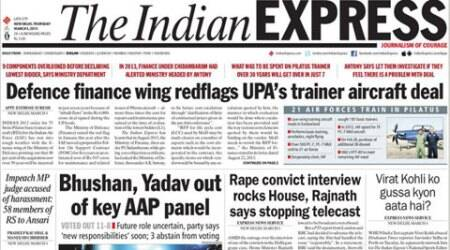 #Express5: Bhushan, Yogendra out of key AAP panel; Fadnavis govt scraps Muslim quota in education