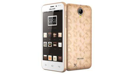 Celkon Millennia Q450 at Rs 4,799