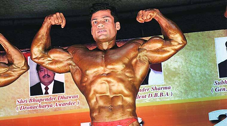 Mohammad  Ashraf was crowned the winner of the Mr India tournament in 80 kgs category.