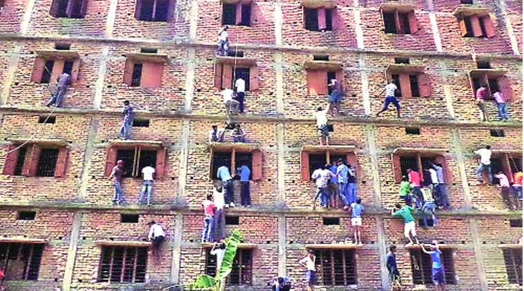 bihar cheating, Bihar mass cheating, examination cheating, exam security, exam guidance, Patna mass cheating, Patna matriculation examination, Patna High Court, Patna cheating, India latest news, nation news, India news, national news