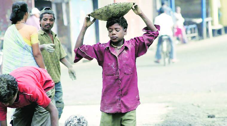 India child labour, child labour, bonded labour, bonded labour india, international labour organisation, ILO, indian express, india news