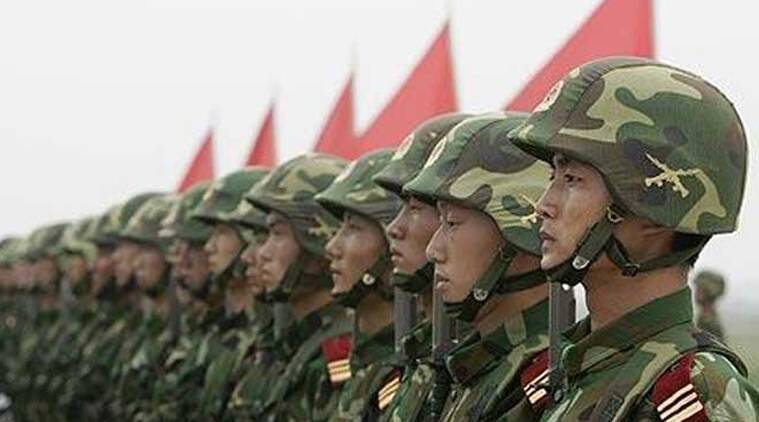 china, india China border, China border, Chinese PLA, china army, china PLA, sino india border, Chinese PLA forces, Sino-India border ITBP, Indo-Tibetan Border Police, chian army ITBP, india news, indian express