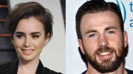 Chris Evans dating LilyCollins?