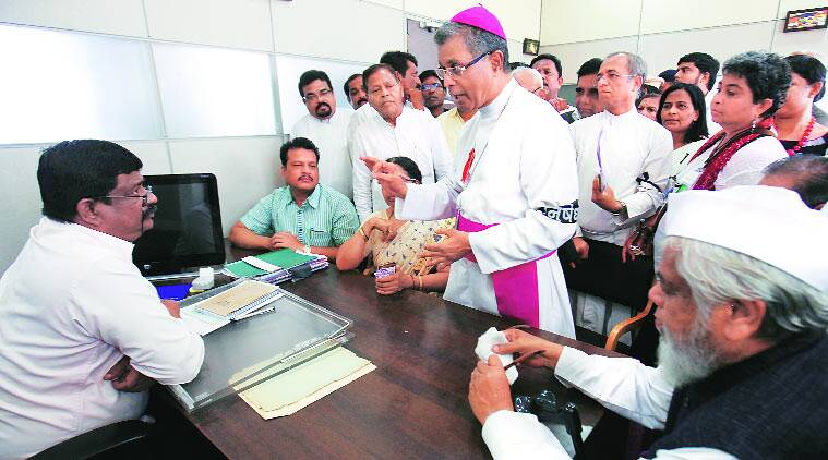 Christians rally against the nun rape case(Source:Express)