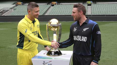 Who will win the 2015 World Cup? Australia or NewZealand