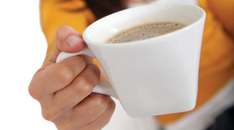 People who drink three to five cups of coffee a day may have a lower risk of heart attack.