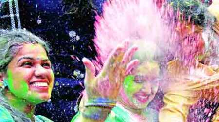 Holi care: Avoid gaudy colours, use red and pink, say doctors