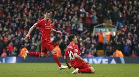Coutinho winner sinks City title hopes as Liverpool win
