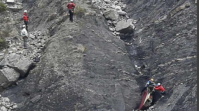 Mobile phone appears to capture final moments before Germanwings plane crash | The Indian Express