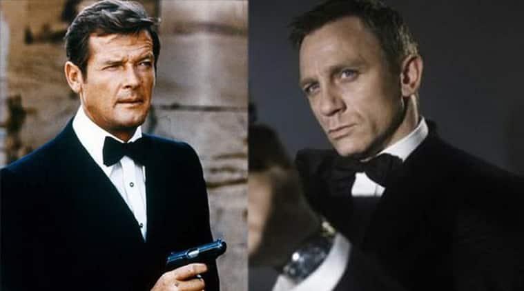Daniel Craig and Rodger Moore