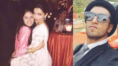 Ranveer Singh, Deepika Padukone attend friend's wedding in Delhi