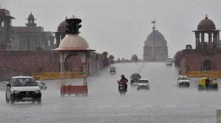 Showers, wind soothe Delhi