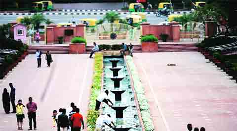 delhi park, delhi park maintenance, delhi park death, delhi municipal corporation, delhi news, india news, indian express