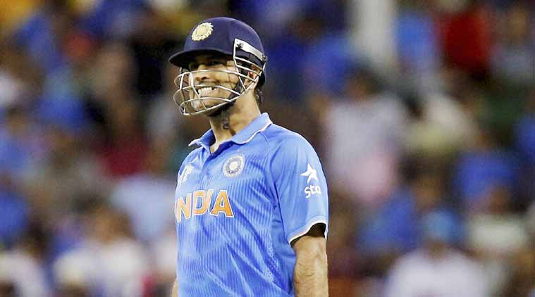 Dhoni was charged with Level 2 offence under ICC Code of Conduct on Thursday. (Source: File)
