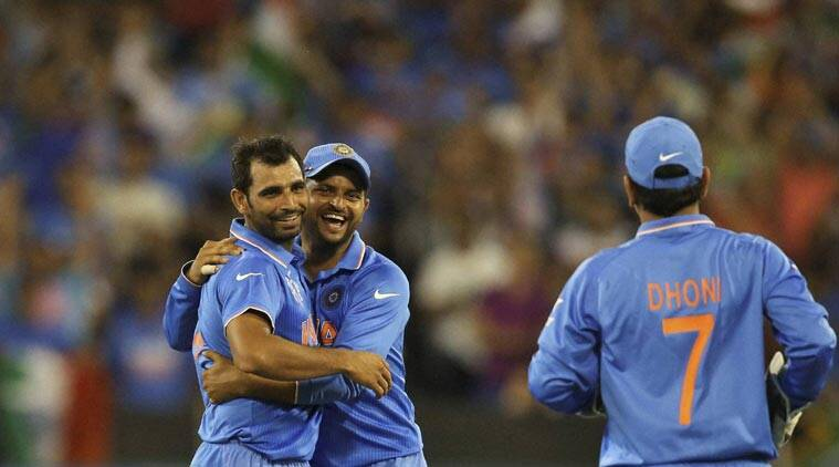 MS Dhoni India, India MS Dhoni, MS Dhoni, India World Cup, World Cup 2015, Mohammed Shami, Shami India, India Shami, Cricket News, Cricket