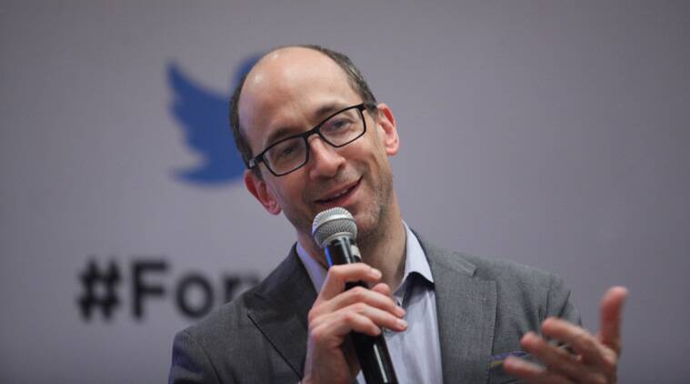 n Exclusive roundtable with Twitter CEO Dick Costolo  during the Forward and Samvaad for Twitter in India presser in New Delhi on Tuesday. (Express Photo by Tashi Tobgyal)