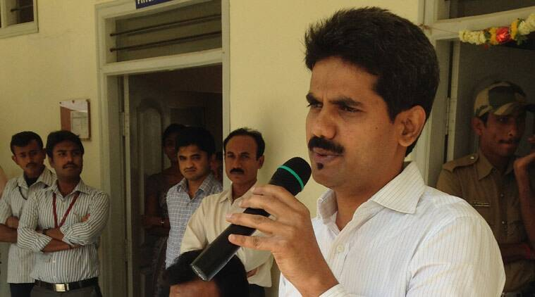 IAS officer Ravi, Sand Mafia, Sand Mafia Ias officer, Congress, CBI probe