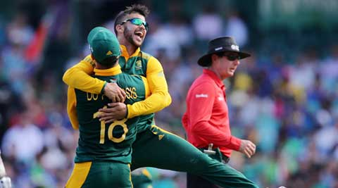 JP Duminy becomes 8th player to take a World Cup hat-trick