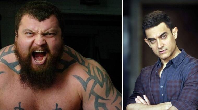 "Britain's strongest man is keen to get a role in Aamir Khan's ""Dangal"""