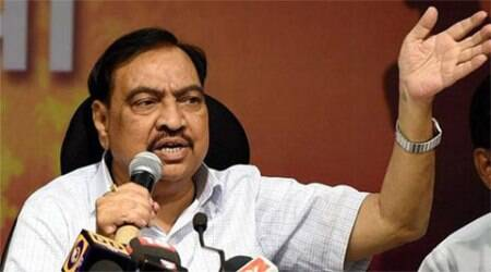eknath khadse, hologram, hologram technology, liquor bottles, Maharashtra Chief Minister, Devendra Fadnavis, scrapped tender, mumbai news, indian express news