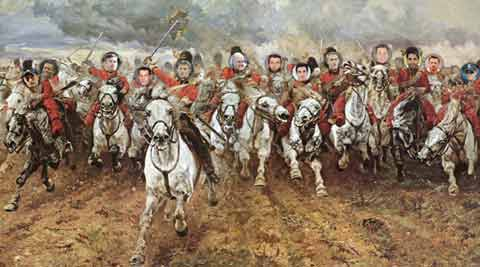 The Charge of the Light Brigade (English Cricket Edition)
