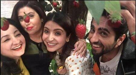 Anushka Sharma treats Farah Khan to 'tasty daawat'