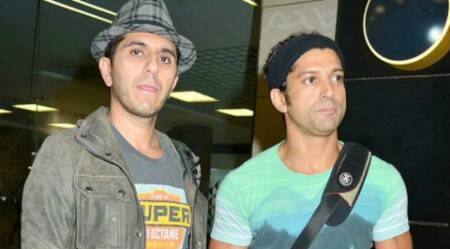 Business partners Farhan Akhtar, Ritesh Sidhwani bond with friends over football