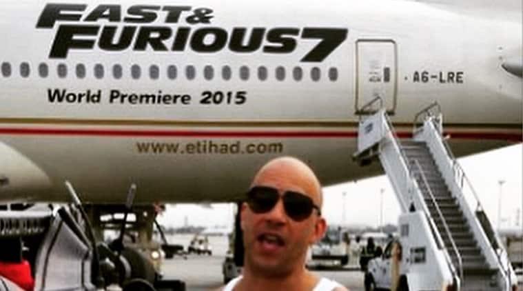 Fast & Furious 777, Furious 7, etihad plane