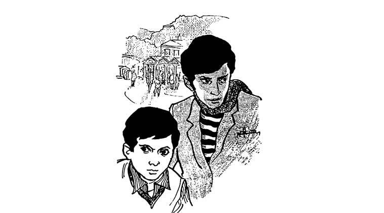 Despite their age difference, Feluda and Topshe speak the same language and enjoy a camaraderie which is playful and assured
