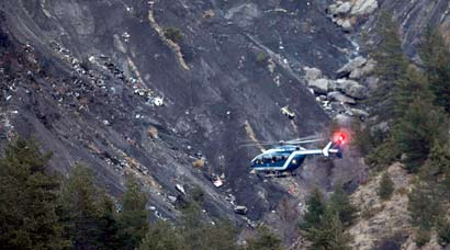 Germanwings A320 jet crashes in French Alps with 150 onboard; rescue operations underway