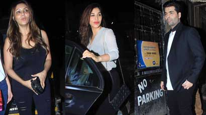 Gauri Khan, Sophie Choudhry, Karan Johar start the week with a bang