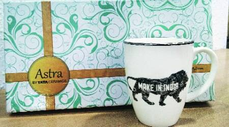 Govt buys gold-plated mugs to promote 'Make in India'