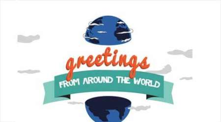 15 greetings from around the world