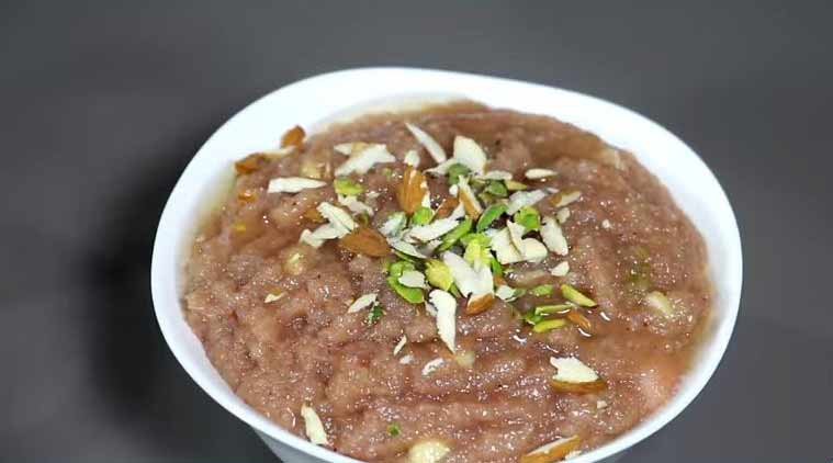 Strawberry Halwa (Source: nishamadhulika.com)