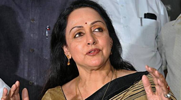 BJP MP Hema Malini.