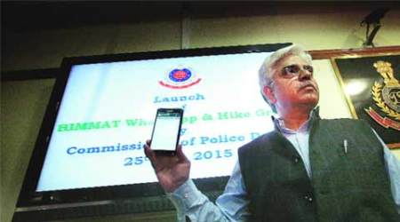 Budget earmarks funds for police's 'Himmat' app