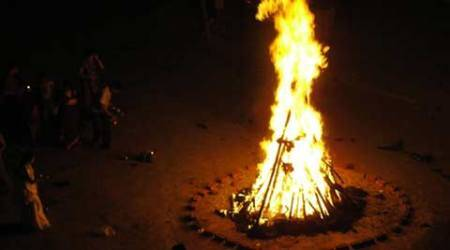 Dalit tonsured, paraded for burning holika pyre