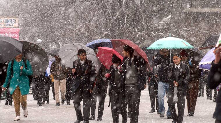 avalanche, HP avalanche, himachal pradesh avalanche, snowfall, shimla snowfall, shimla avalanche, shimla, north india snowfall, india avalanche, india news, indian express