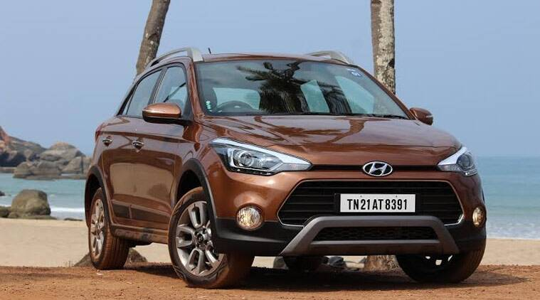hyundai i20 active crossover launched starting at rs lakh the indian express. Black Bedroom Furniture Sets. Home Design Ideas