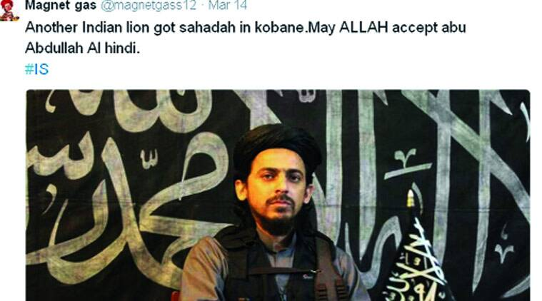 ISIS Indian recruit, isis, isis india, islamic state, islamic state india, isis illegal, india ban isis, isis news, delhi news, Indian recruit killed, india news, express news