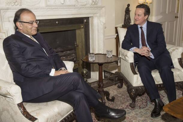 Photos Jaitley Amitabh Bachchan David Cameron Unveil