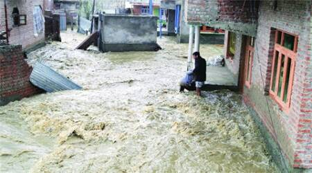 Jammu & Kashmir: 2 washed away in flash floods
