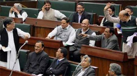 Uproar, verbal duel in J-K Assembly over fund distribution