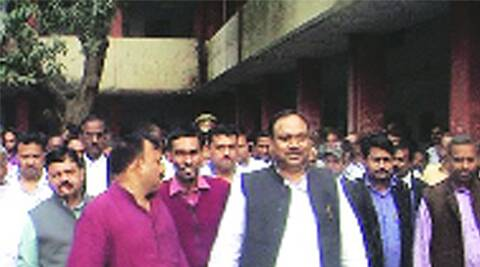 Kailash Chaurasia, Child Development and Nutrition Minister , minister manhandling case, minister released on bail, Samajwadi party ,minister bail, case manhandling, lucknow news, city news, local news, lucknow newsline