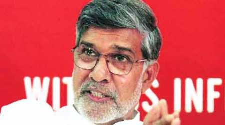 Nobel Laureate Kailash Satyarthi criticises godmen for not speaking on kids' rights