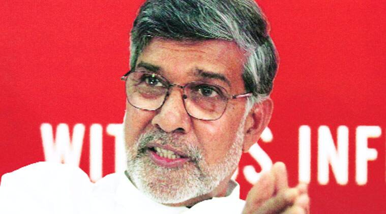 Kailash Satyarthi, Nobel laureate Kailash Satyarthi, Kashmir Children, Kashmiri Children, Kashmir, India News, Indian Express, Indian Express News